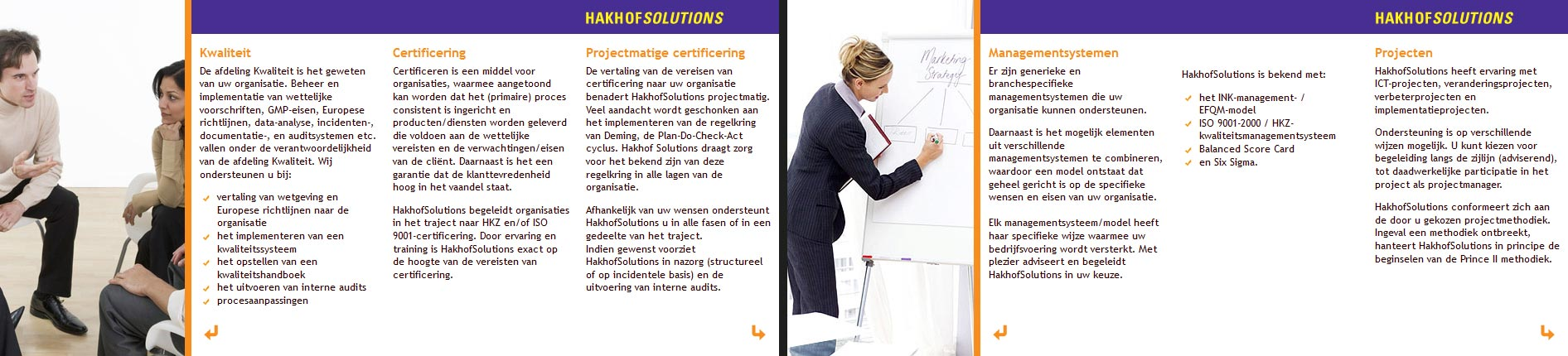 Website Hakhof Solutions