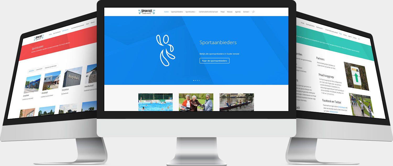 Wordpress Website Sportief Ouder-Amstel