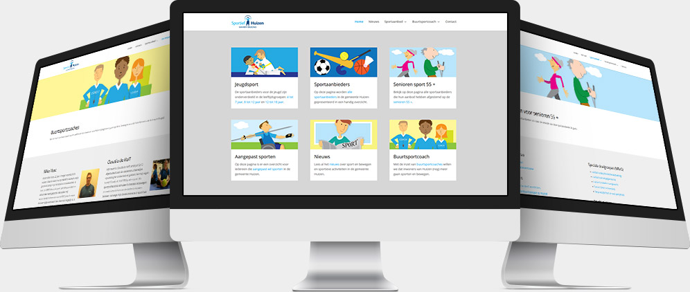 Wordpress Website Sportief Huizen