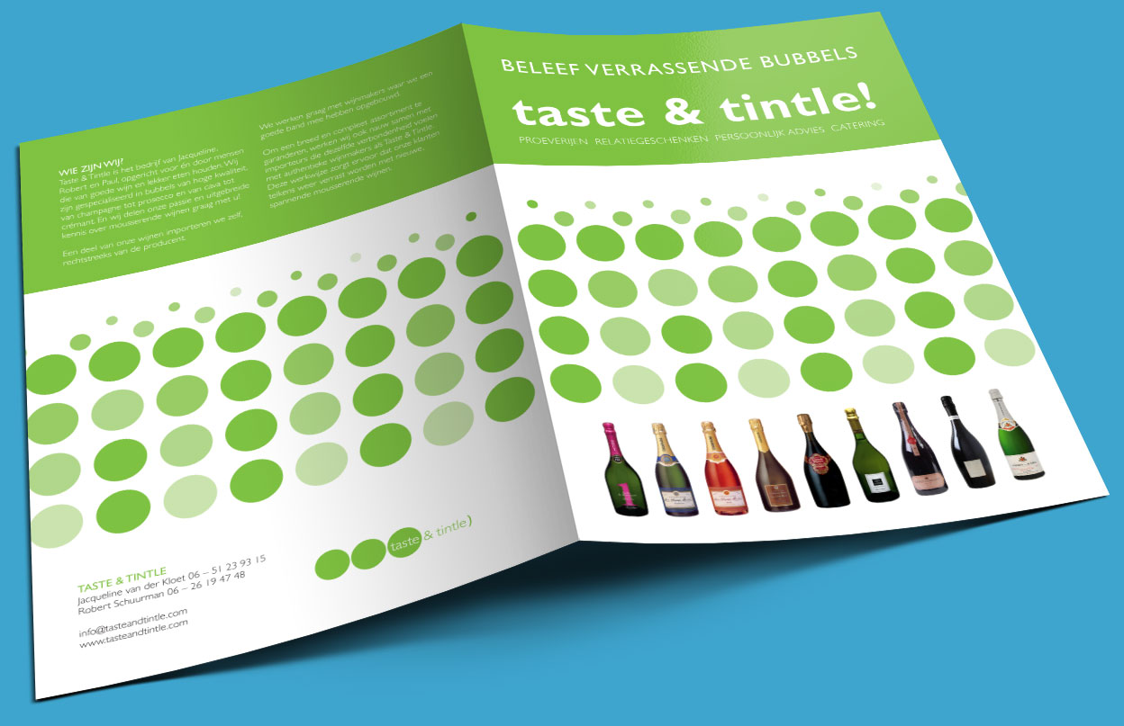Folder voor Taste & Tintle
